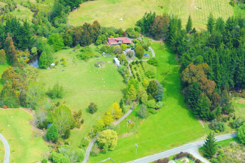 Nestled on 7 acres of Nelson paradise
