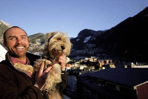 Sol vista WIFI 2hab Andorra Encamp . 6 personas .
