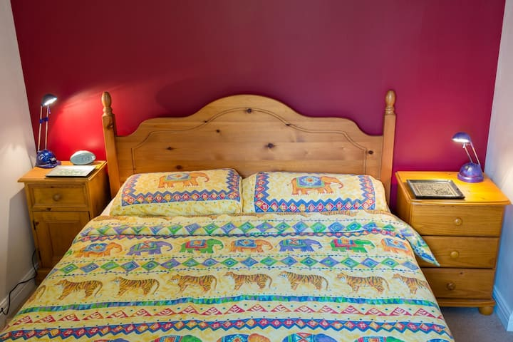 Bright comfy double bedroom with en suite - Norwich