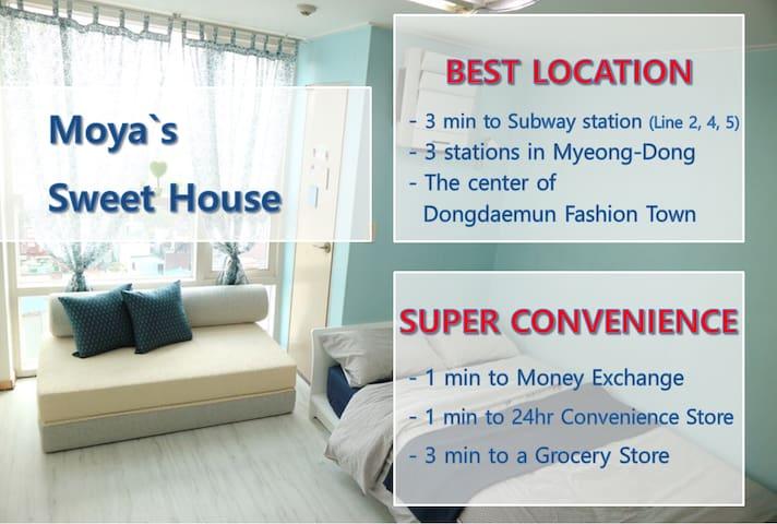 Moya`s Sweet House in Dongdaemun