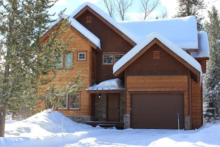 5 Bdr Cabin On 1 Acre Wooded Lot - McCall - Huis