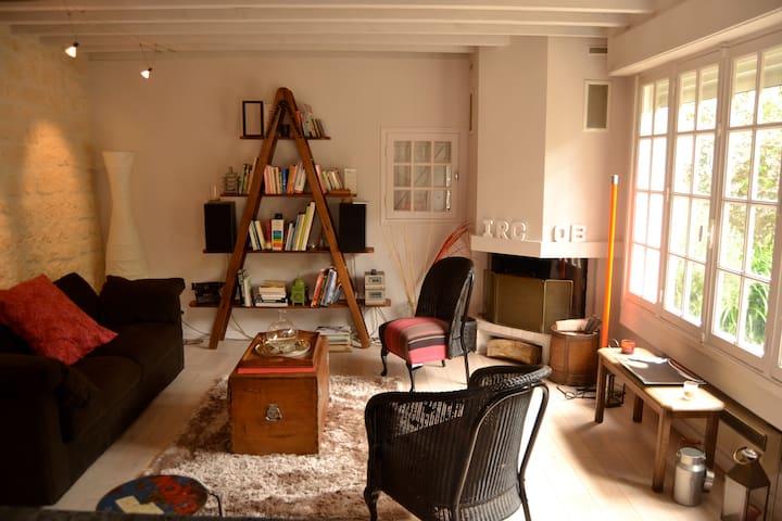 Quiet house with a garden - Trouville-sur-Mer - House
