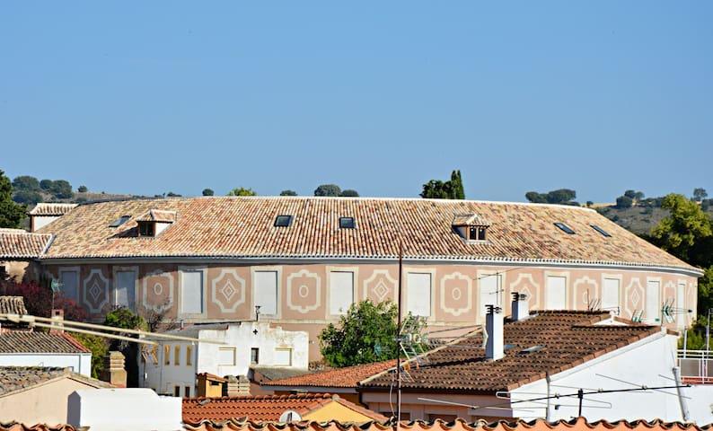 vistas desde la buhardilla: Real Fábrica de Paños de Carlos III