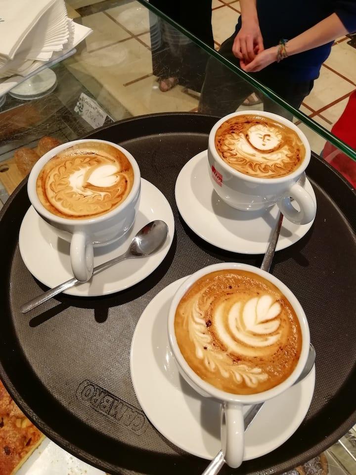 Cappuccini d'arte!