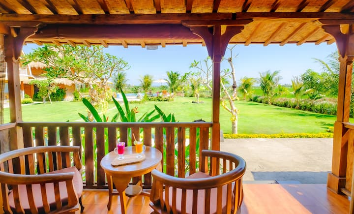 Bima Canggu Wooden Green Paradise Bungalow