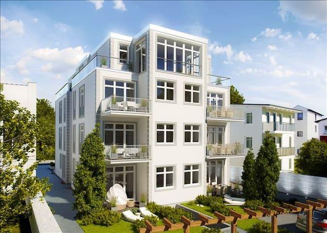 Villa Wiederkehr - FeWo Einkehr -in Sellin / Rügen - Sellin - Tatil evi