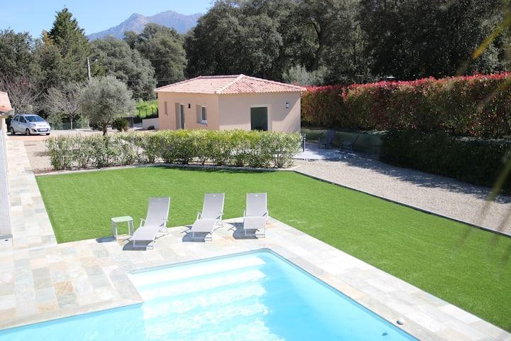 Maison avec accés piscine