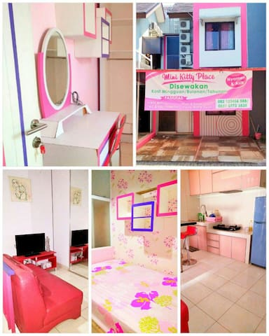Woman Guest House BSD near AEON,ICE - Studento L19 no.8 - Huis