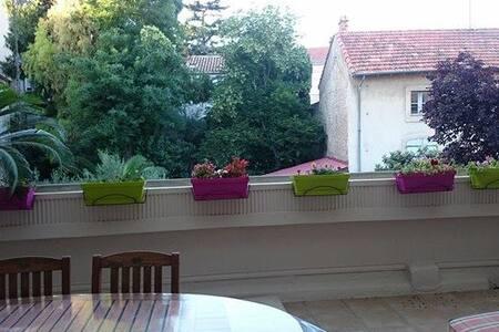 appartement lumineux  coeur de ville avec terrasse