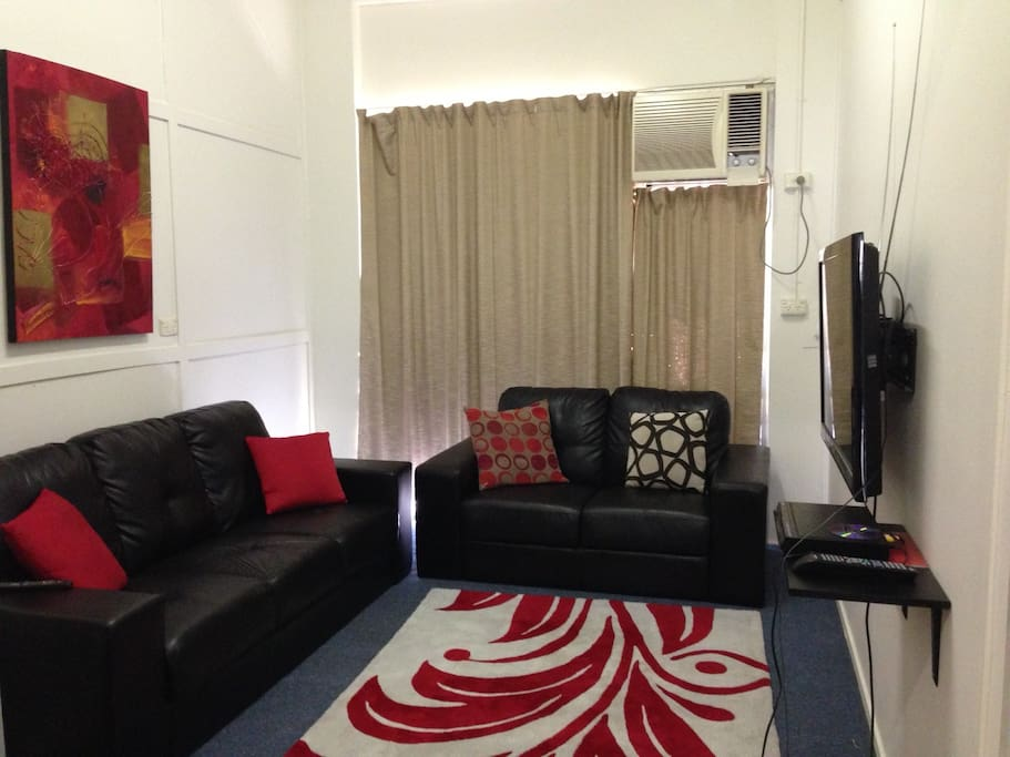 Main lounge with TV/DVD