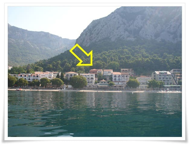 Studio Apartment Mirjana in Gradac - Gradac - Apartment