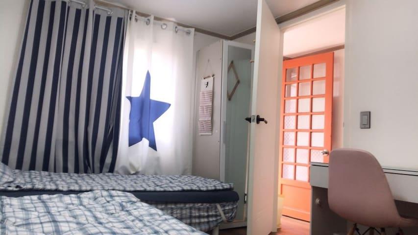 홍대,이대 가까운 충정로역 (여성1인실,2인실)☆창가