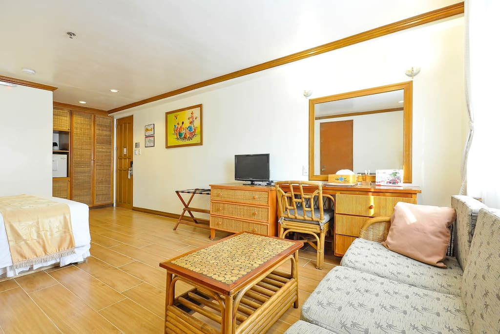 A Classic Room for 2 Persons, just steps away from White Beach Station 2.