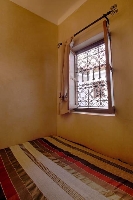 Fenêtre appelée Moucharabia