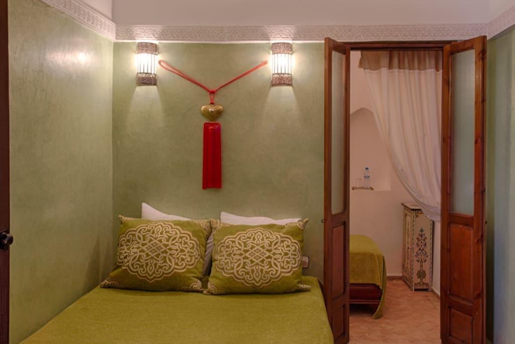 Chambre en tadelakt avec climatisation