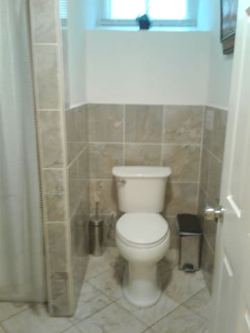 Full size bathroom.