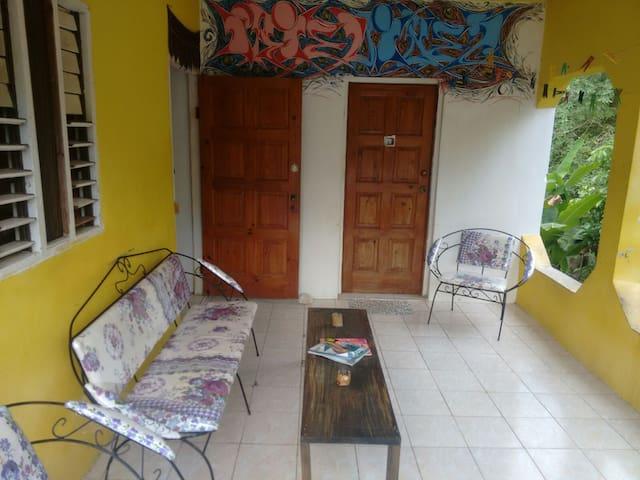 IRIE Vibez Hostel private room 2