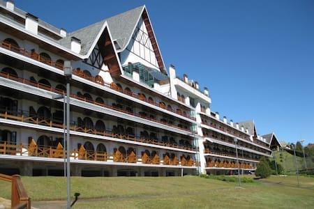 Lindo Flat - Alto do Capivari - Campos do Jordão - Campos do Jordão - Byt se službami (podobně jako v hotelu)