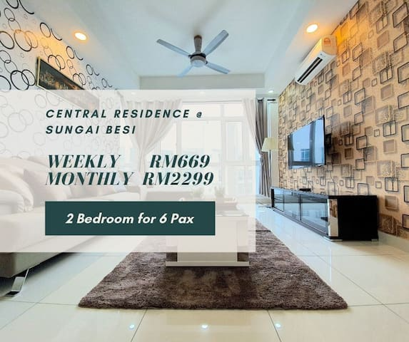 Kuala Lumpur | Central Residences | TBS [6 Pax]