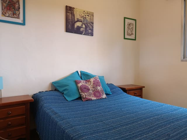 Room in the city center for two persons