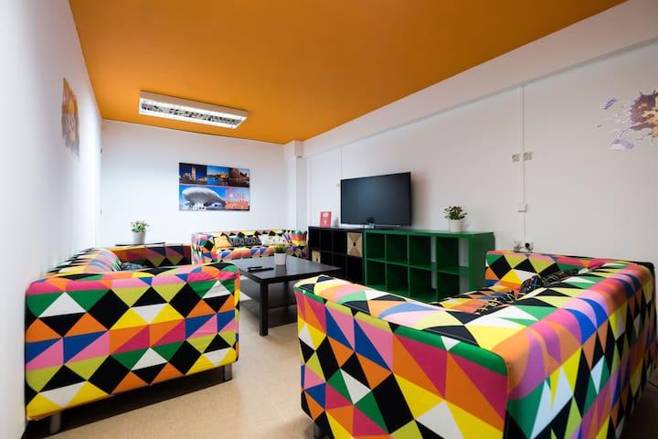 Cama en habitación compartida (10 personas)