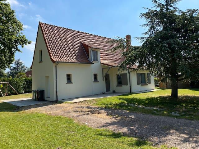 Maison individuel au lac d'Ardres