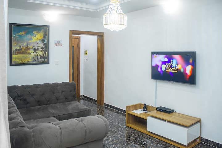 1Bedroom Service Apartment, 24/7LuxuryApartment