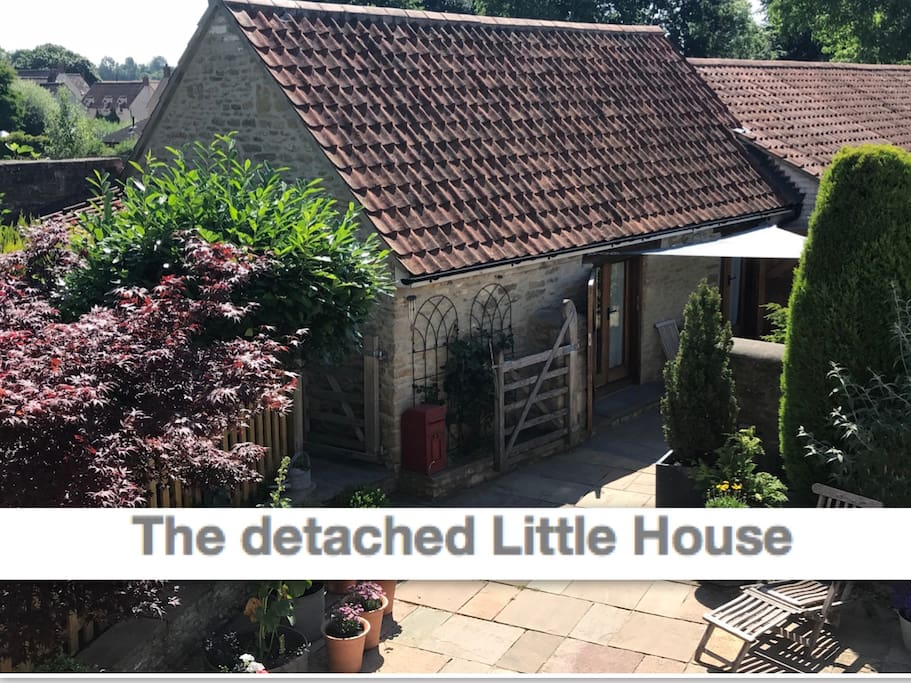 The Little House is detached from the main farmhouse