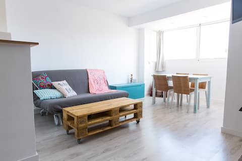Apartament 200m from the beach and in the center!!