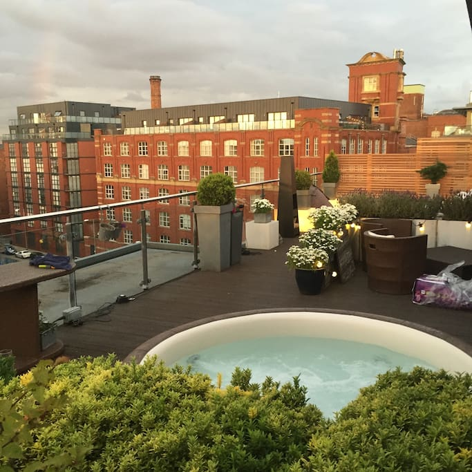 Penthouse in trendy neighbourhood for rent in manchester for Terrace northern quarter