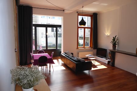 Wonderful apartment in the historic center - Gent - Wohnung