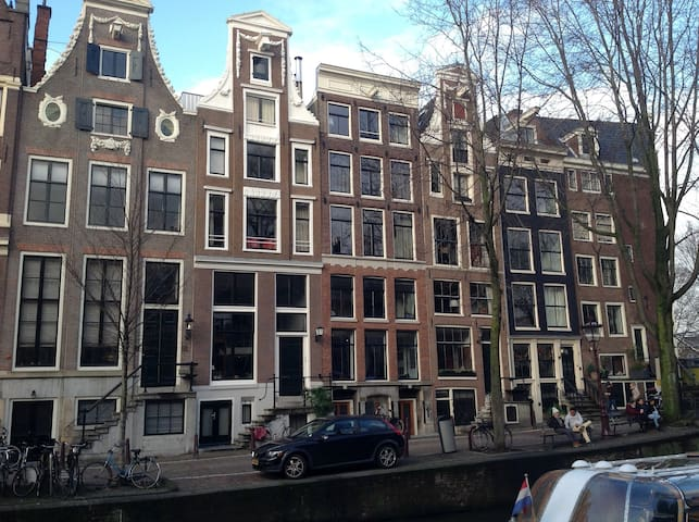 Canal rooms Leidsegracht