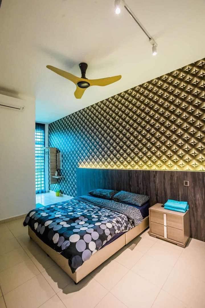 Kuantan homestay 2pax room+Free Wi-Fi