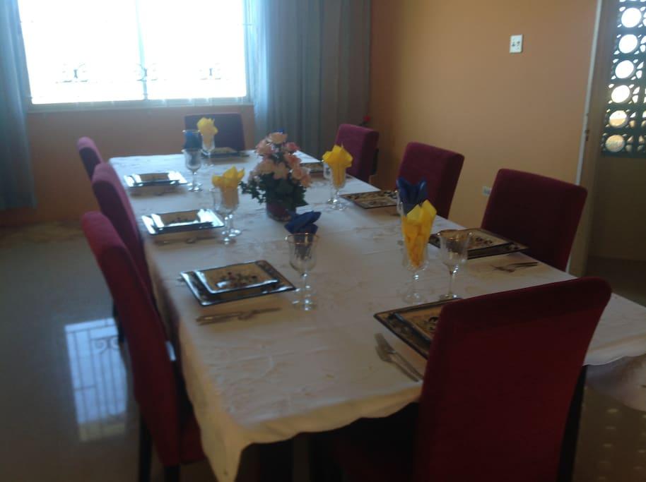 exquisite dining!