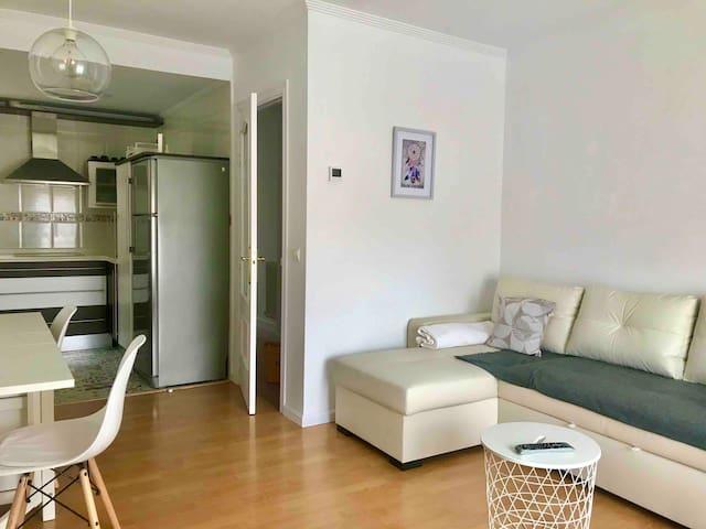 El apartamento de Andrea tranquilo y acogedor