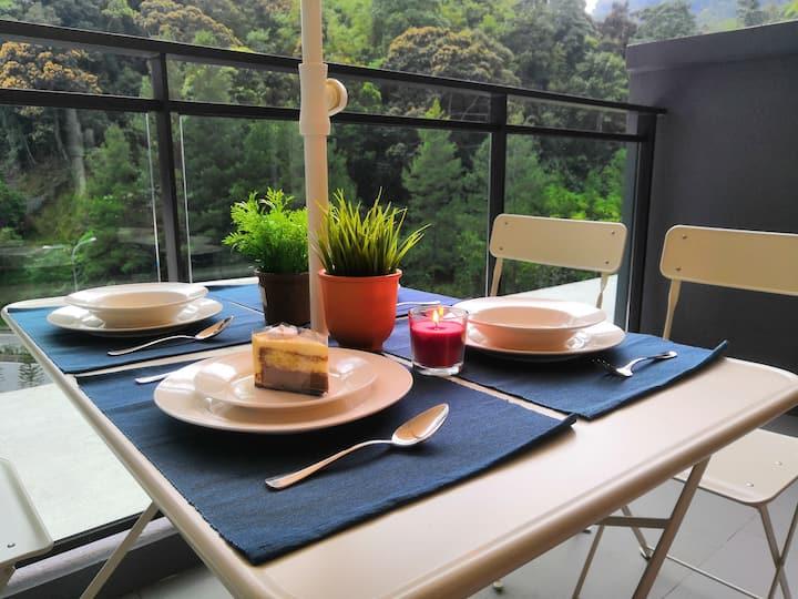 V2 3BR Wifi Netflix Garden Balcony @Vista Genting