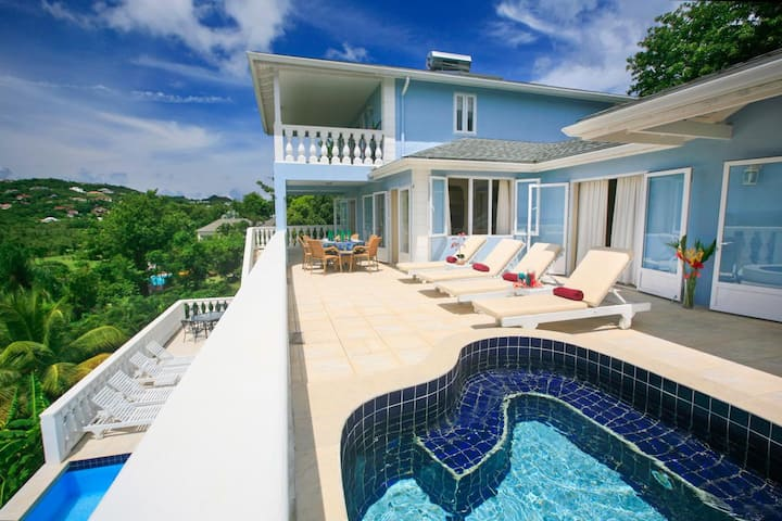 Villa Blue Moon at Gros Islet