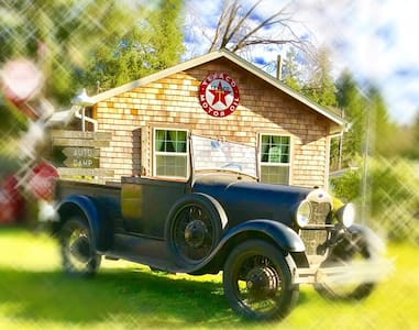 """BECKERS' CABINS AUTO CAMP """"LITTLE LODGE """""""