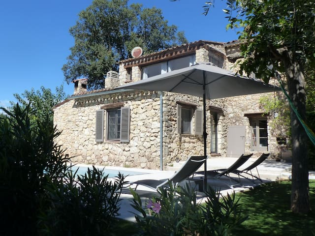 Lovely stone Mas between sea & provence - Bagnols-en-Forêt - Maison