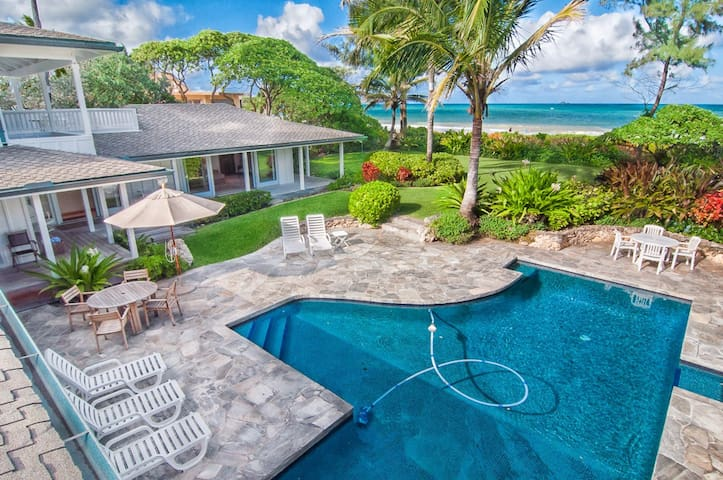 Kailua Beach Villa-Right on Kailua Beach - Kailua - Ev