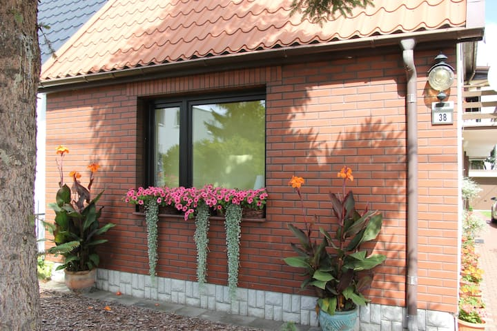 Luxury apartment with garden and parking in Gdansk