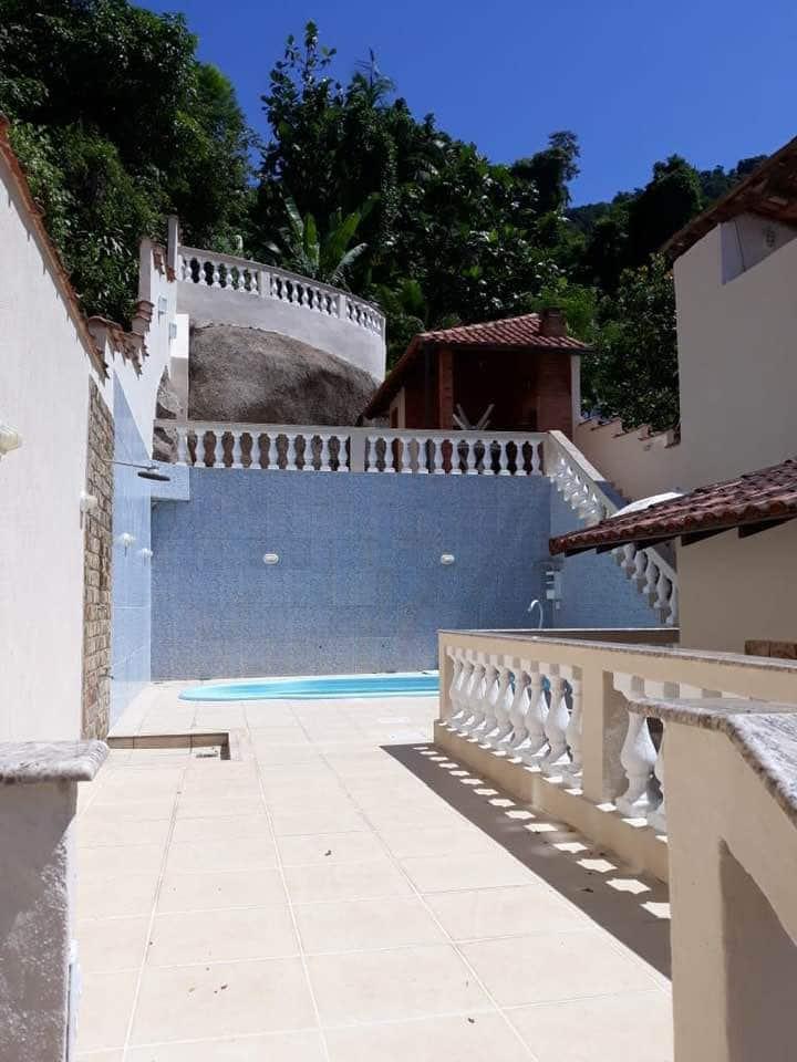 Casa em Angra/Garatucaia, mar, piscina, mirante...
