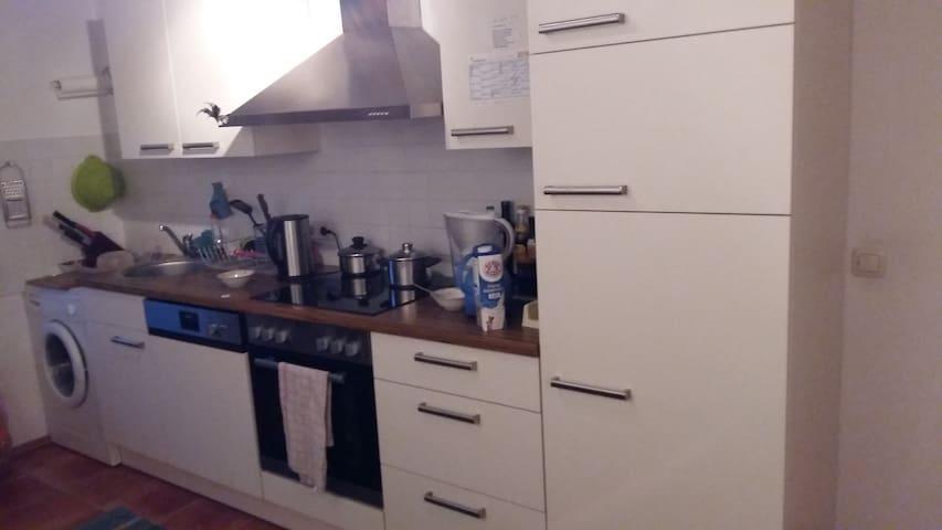 Kitchen,Kühlschrank,Waschmaschine