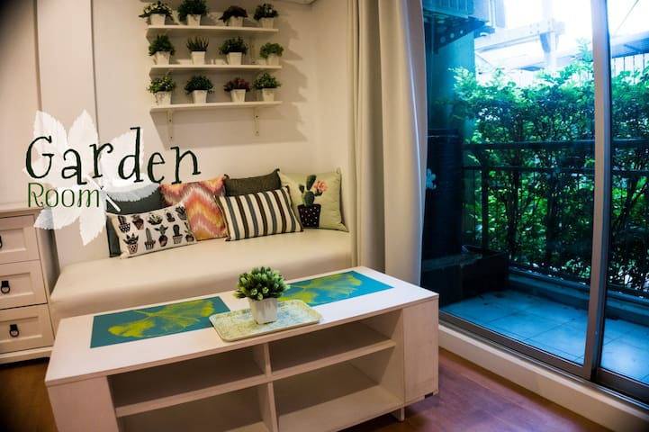 Garden Room 10min to DMK- special for monthly book - กรุงเทพมหานคร - Apartment