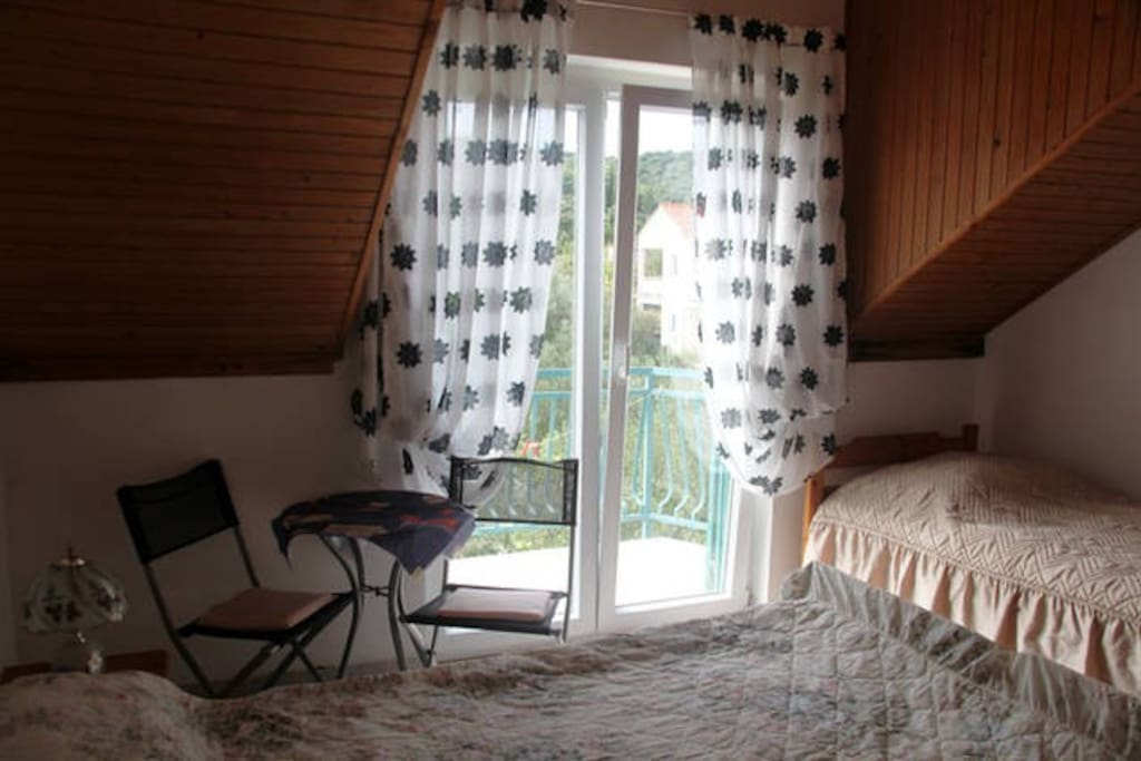 Three bed room with TV, air conditioner, balcony, wi-fi and kitchenette