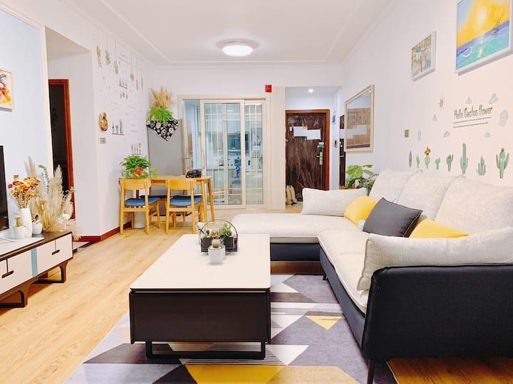 『花宿』浪漫私享两室 • 古隆中 • 唐城 • 鼓楼/北街    旅行路上的家