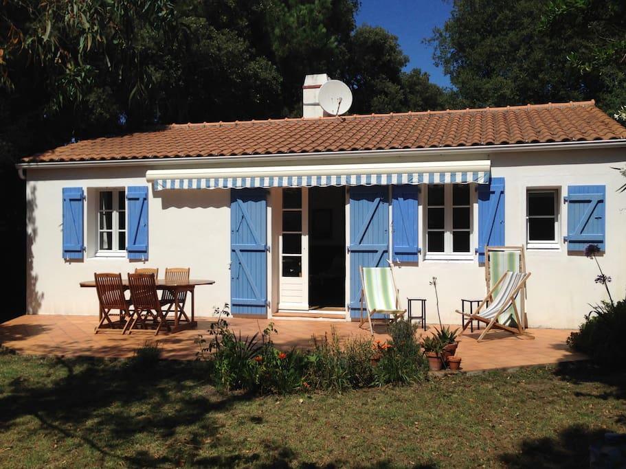 Maison 4 pers bois de la chaise 800 euros sem houses for Maison de l emploi noirmoutier