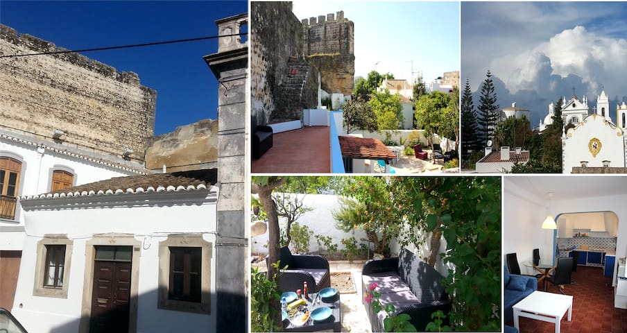Tavira Townhouse with garden and roof-terrace!