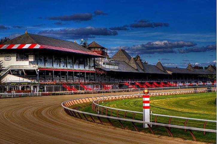 Saratoga Racetrack...world renowned!