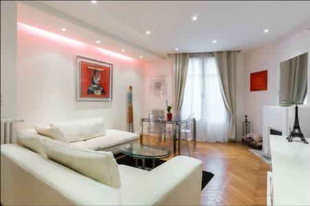 Private room, safe, quiet, Eiffel T. 16th district - Paris